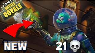 NEW Leviathan Skin!! | 21 BOMB | Aggressive Solo Gameplay | PS4 Fortnite Battle Royale
