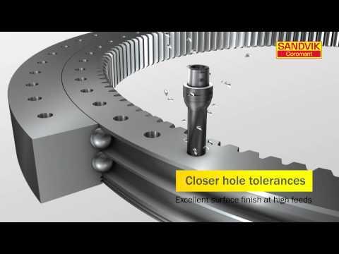 4334 Grade Right Hand CoroDrill 870 Drill tip PVD TiAlN Carbide Sandvik Coromant Zertivo Technology 870-1190-9-GP 4334