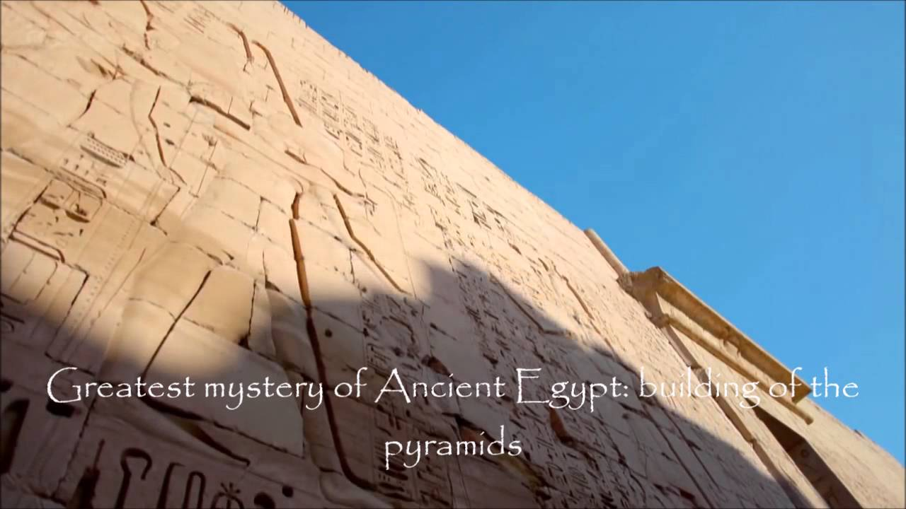 not just pyramids ancient egyptian architecture youtube