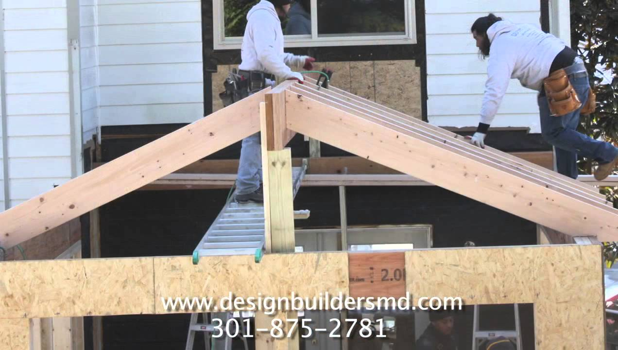 framing a cathedral ceiling - youtube