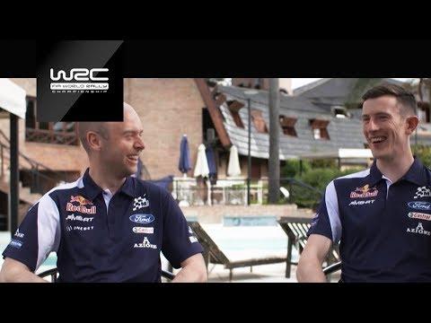 WRC 2018: Elfyn Evans / Dan Barritt