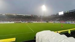 FC Hansa Rostock vs FC Bayern München (2)/ Heimsieg 2:1/ Abendspiel