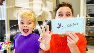 Real Tooth Fairy Mystery Note Found! ‍🧚‍♀️ (BIG MONEY SURPRISE? 💵 )