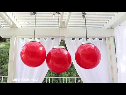 How to Make Giant Christmas Ornaments with a Ball