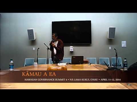Kamau a Ea 4 - Afternoon Presentations