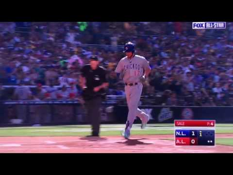 Kris Bryant Home Run in the 2016 MLB All-Star Game