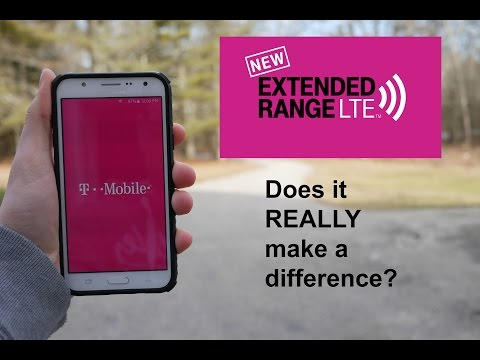 T-Mobile Extended Range LTE! Is There Really a Difference⁉