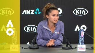 Lauren Davis press conference (3R) | Australian Open 2018