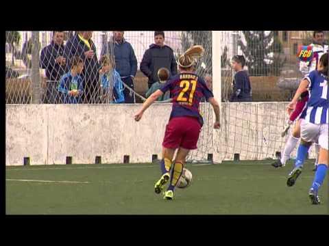 [HIGHLIGHTS] FUTBOL FEM (Liga): Sporting de Huelva - FC Barcelona (1-2)