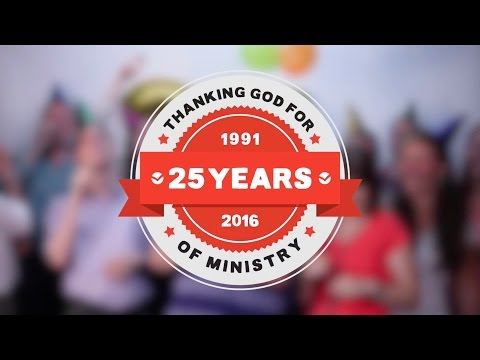 Happy Birthday The Good Book Company: Thanking God for 25 Years of Ministry