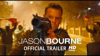 Jason Bourne | Official Trailer [HD - 1080p] | Universal Pictures Canada