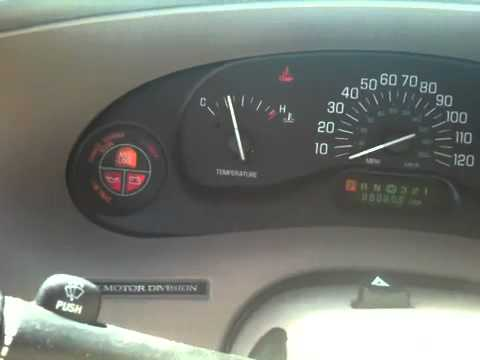 2000 Buick Instrument Cer Problem