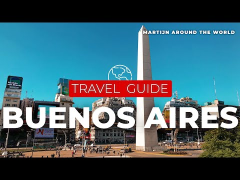 MY PARADISE IN SOUTH AMERICA - BUENOS AIRES Argentina TRAVEL GUIDE