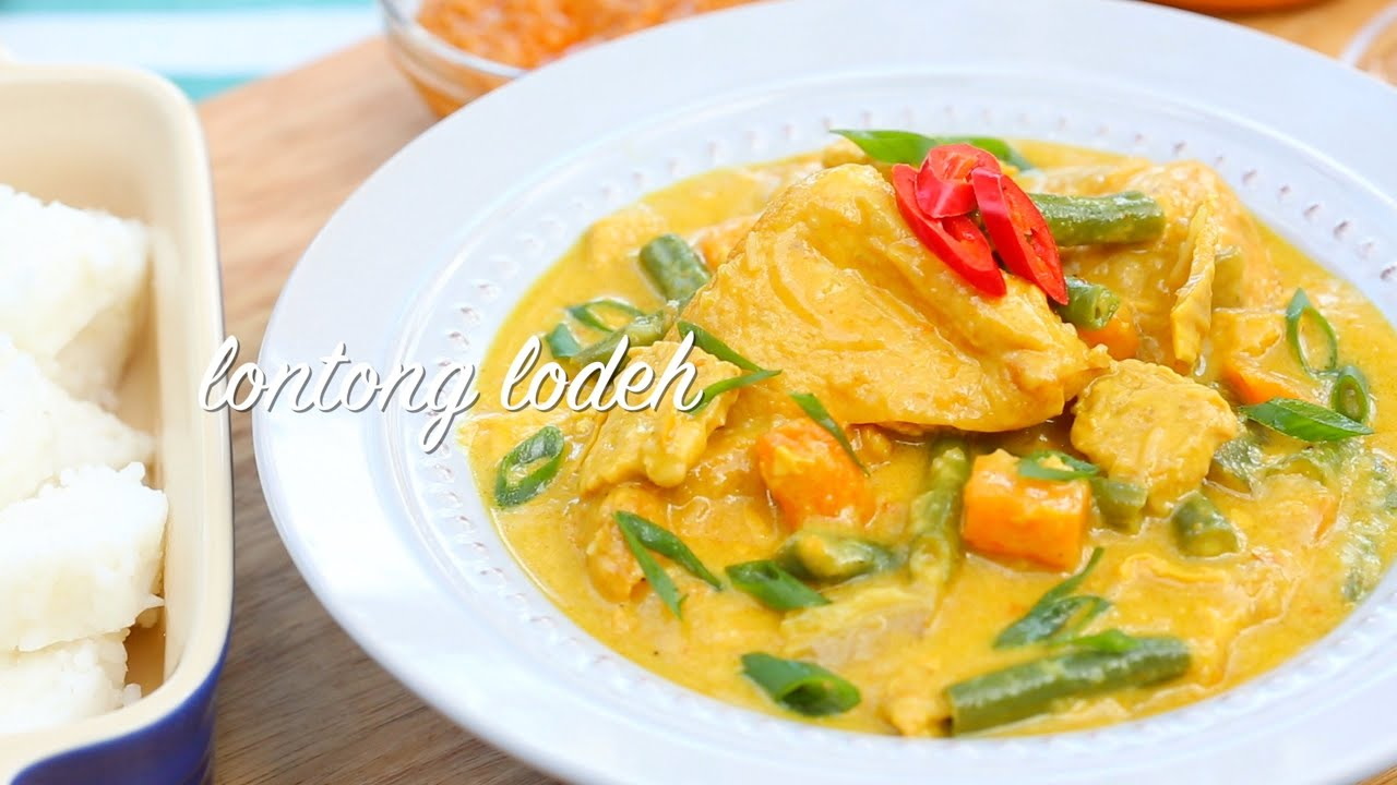 How to make Lontong LodehYouTube