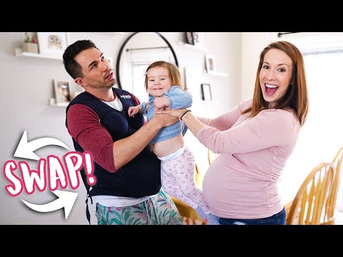 Husband and Pregnant Wife Swap Roles for 24 HOURS! from YouTube · Duration:  30 minutes 34 seconds