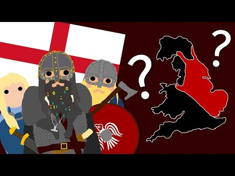 The History Of The Vikings In England (AD. 793 - AD. 1066)