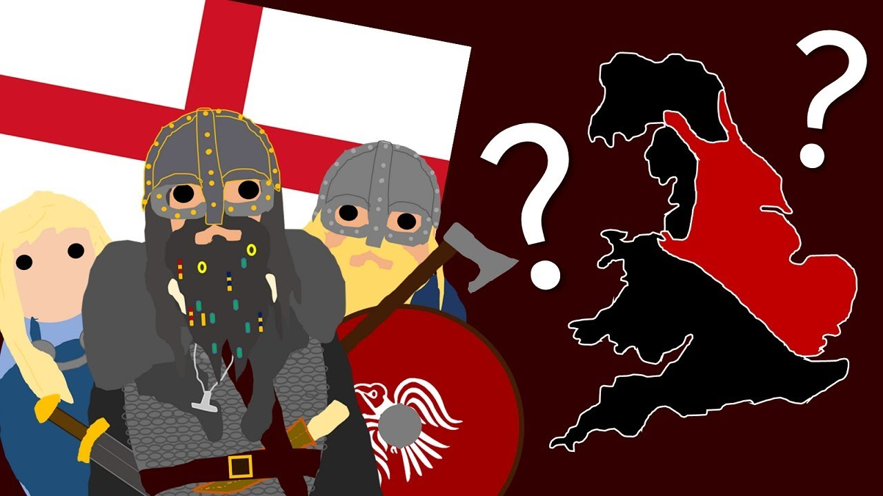 Map Of England 793 Ad.The History Of The Vikings In England Ad 793 Ad 1066