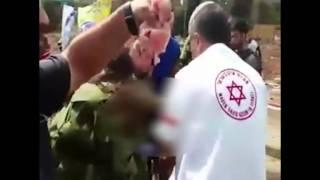 بالفيديو.. مستوطن يهودي يضع