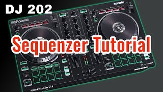 Roland DJ 202 Sequenzer Tutorial DEUTSCH