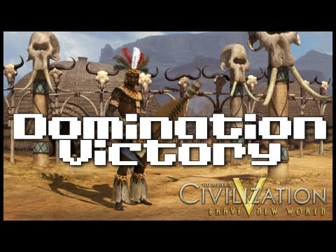 Civilization V: Brave New World Zulu Domination Victory [Part 8]