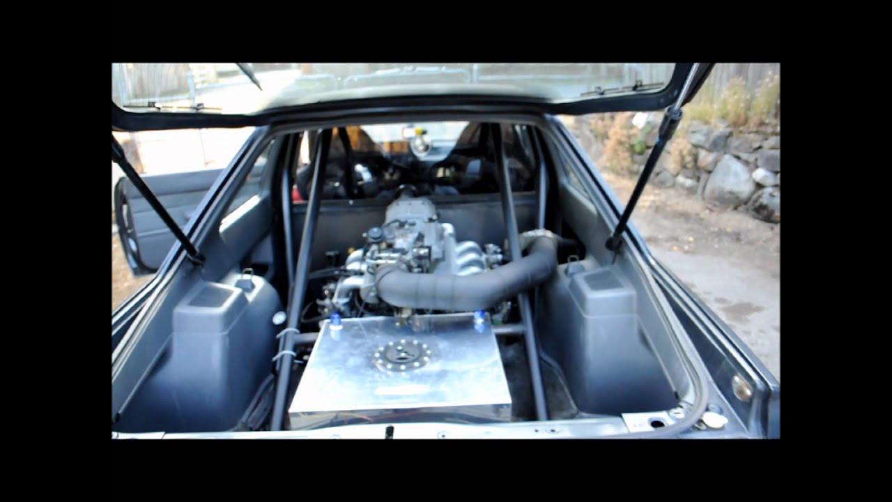 1987 Subaru Coupe Mid Mounted Eg33 Supercharged Youtube