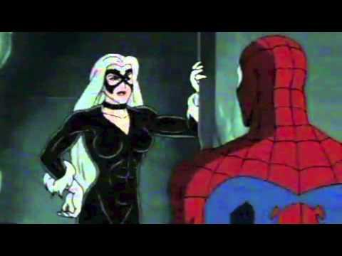 black cartoon cat man sex spider