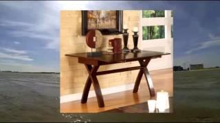 Furniture of America Guarda Expandable Sofa Table Dark Cherry