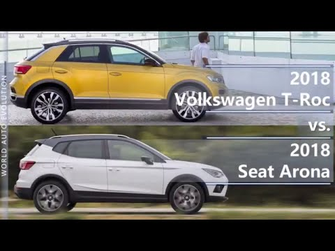 2018 volkswagen t roc vs 2018 seat arona technical comparison. Black Bedroom Furniture Sets. Home Design Ideas