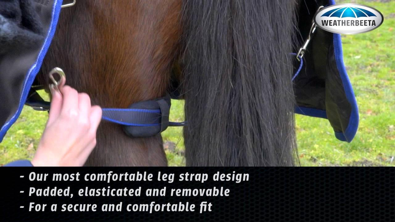 Comfitec Blanket Features Leg Straps