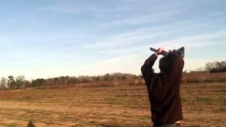 Trick skeet shooting