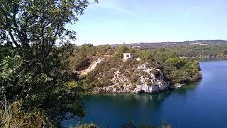 Lac du camping l'eouviere verte à Artignosc sur Verdon