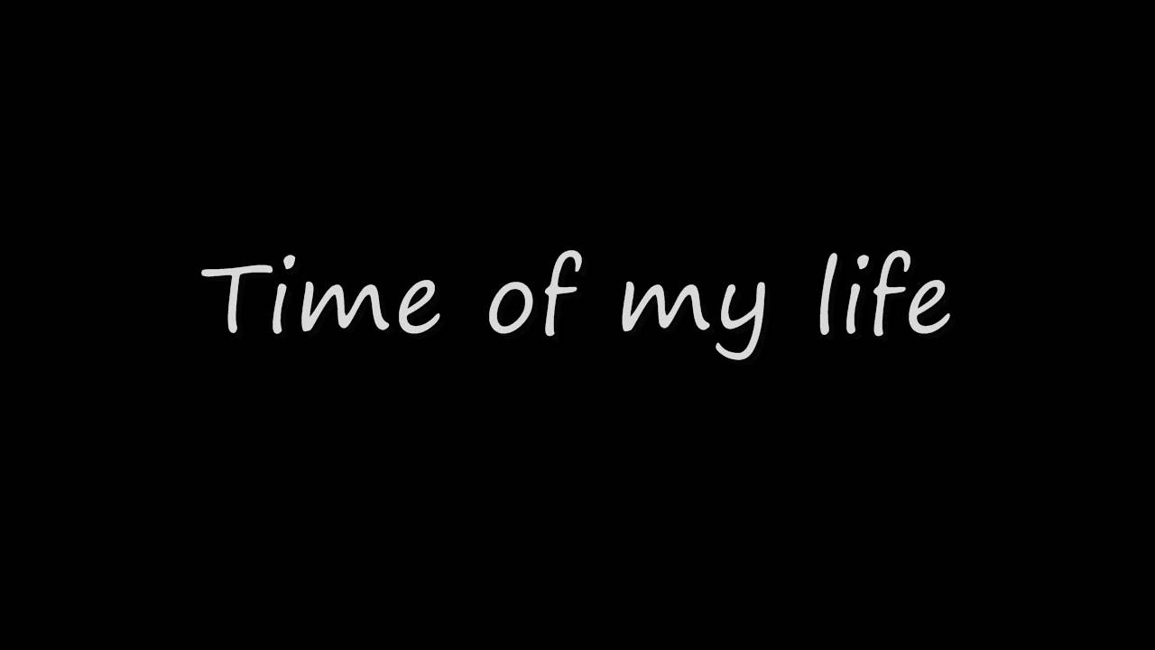 Dirty dancing - Time of my life (lyrics) - YouTube
