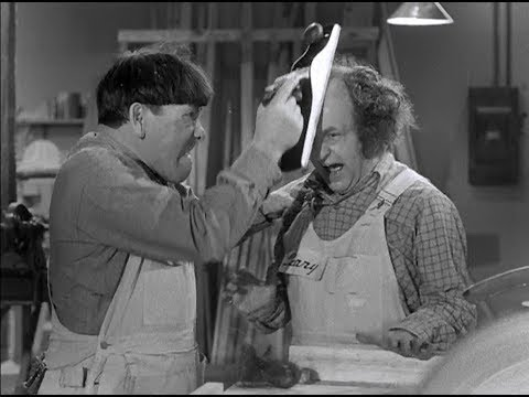 The Three Stooges 128 A Snitch In Time 1950 Shemp, Larry, Moe