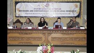 Fakultas Hukum Universitas Udayana Gelar Seminar Isu dan Masalah Hukum Terbaru