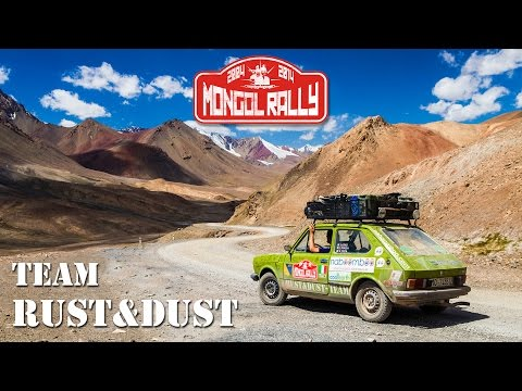 Mongol Rally 2014 - Team Rust&Dust