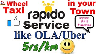 Bike(Rapido) service in your town | like Ola,Uber |  B-tech Review  |