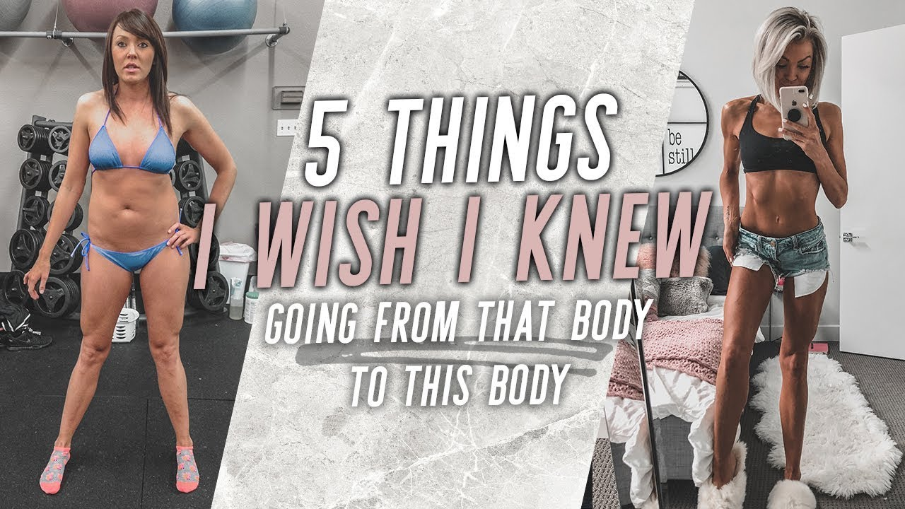 BIG Mistakes I Made with Fitness - 5 Things I Wish I Knew