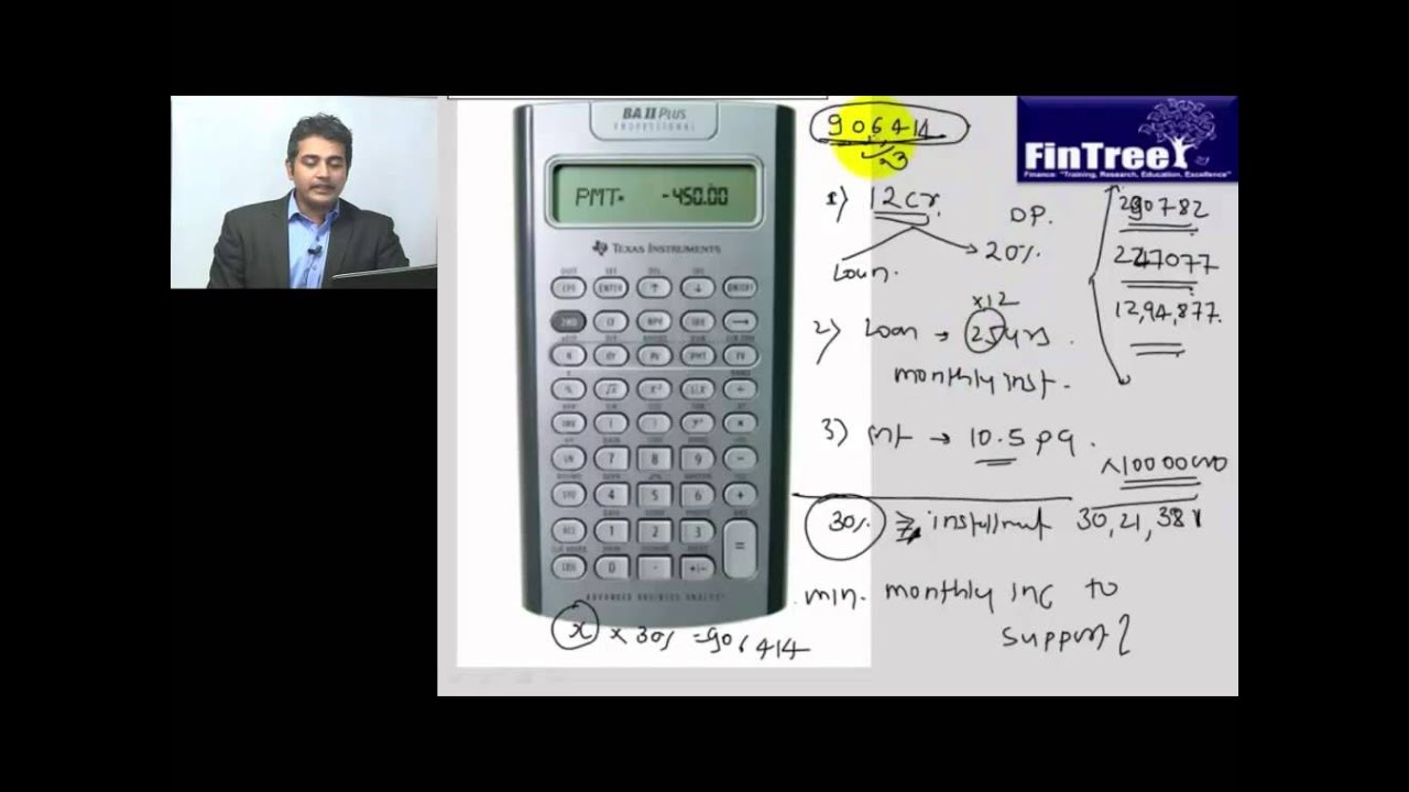 Time Value Of Money Basics Using Texas Instruments Ba Ii Plus Calculator
