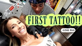 MY FIRST TATTOO *gone bad*