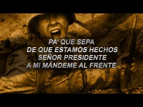 Voz de Mando - Soldado Latinoamericano (Mensaje al Presidente)