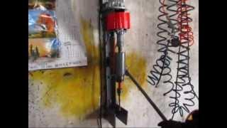 Wiertarka stołowa garażowej konstrukcji :D