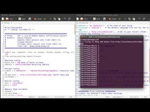 SMF 2.0.10 Remote Memory Exfiltration exploit