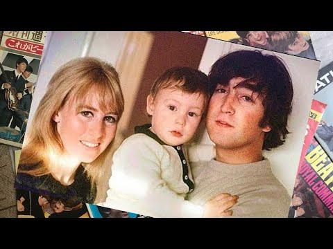 ♫ George Harrison & Pattie visiting of John Lennon & Cyn