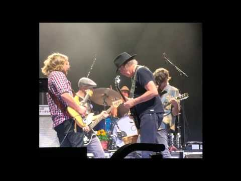 Neil Young + Promise Of The Real 'Down By The River' - San Diego - 13 October 2015
