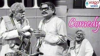Allu Ramalingaiah & Raja Babu Hilarious Comedy Scenes || Back 2 Back Scenes || Volga Videos 2017