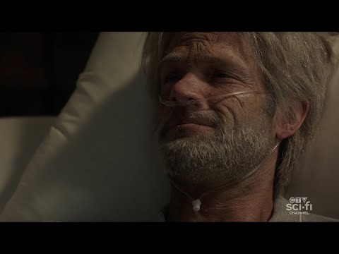 Supernatural 15x20 - Sam continues with his life, getting older and dies!
