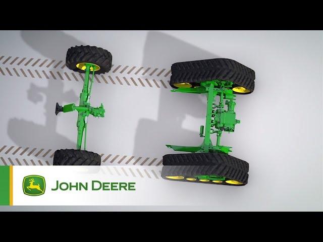 John Deere - Mietitrebbie Serie T - Animazione Trazione Integrale Xtraction