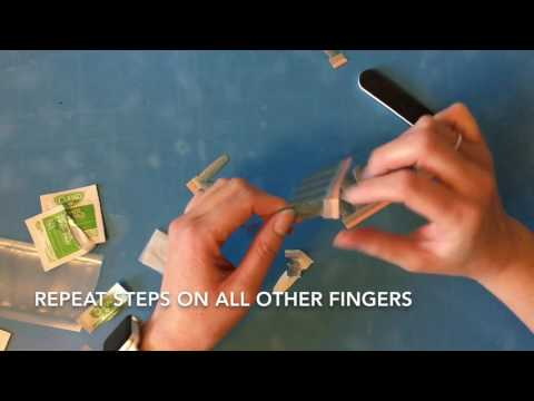 How to apply Color STREET 100% nail polish strips