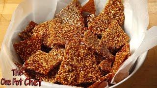 Sesame Snaps - Recipe