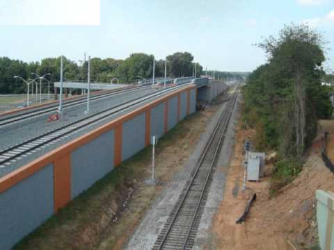 Cherry Precast: CATS Light Rail, Charlotte, NC - YouTube